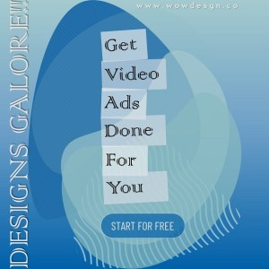 Promo PowerPoint Video Template on Design Service
