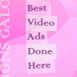 PowerPoint Video Ad Creation Services Template
