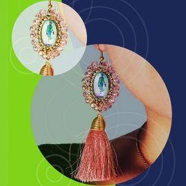 Video Ad on Earrings | PowerPoint Design Template