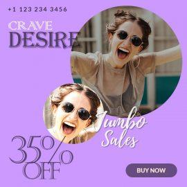 Buy 1:1 Customizable Video Ad | PPT Design Template