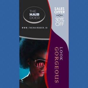 Sales Video Ad on African Hairstyles | PPT Design Template
