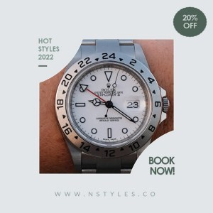 Watches for Men - Customizable PPT Video Template