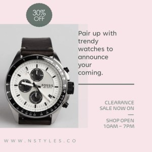 Watch Brands - Customizable PPT Video Template