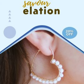 Fabulous Earrings - Video Ad with PPT Template