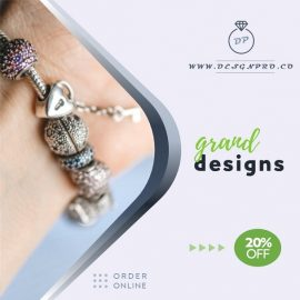 Beaded Bracelets PPT Video Ad Template