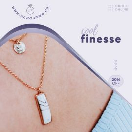 Chain Necklace PPT Video Ad Template