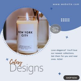 Candle Holders for Home - PowerPoint Video Template