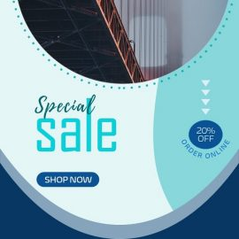 Elegant Wallpapers for Home - PPT Sales Promo Ad