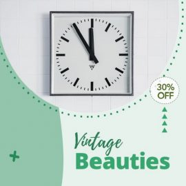 Wall Clock - Gifts Video PPT Template