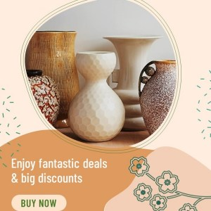 Pottery Sale - Classic PowerPoint Video Template for Ads