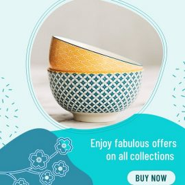 Bowl Display as Gifts - PowerPoint Template for PPC Ads