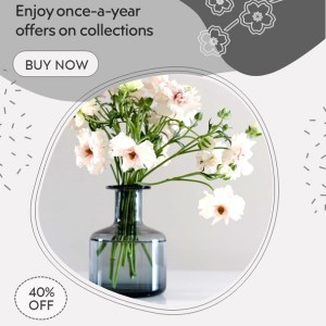 Vase Display - PowerPoint Video Ads for Sale