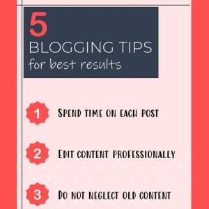 Instagram Story Video Template - 5 Blogging Tips