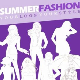 Instagram Template - Showcasing Summer Apparels