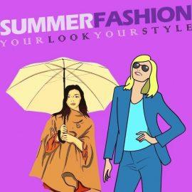 Instagram Template - Summer Apparels Display