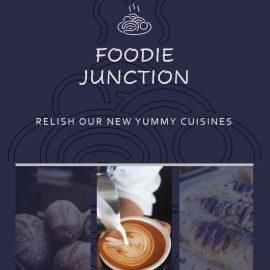 Instagram Ads Template - Foodie Junction Shop