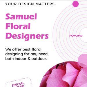 Instagram Marketing Template - Floral Design Business
