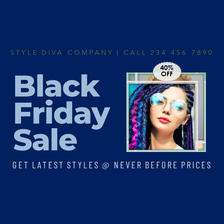 PPT Video Ad on Black Friday Sale