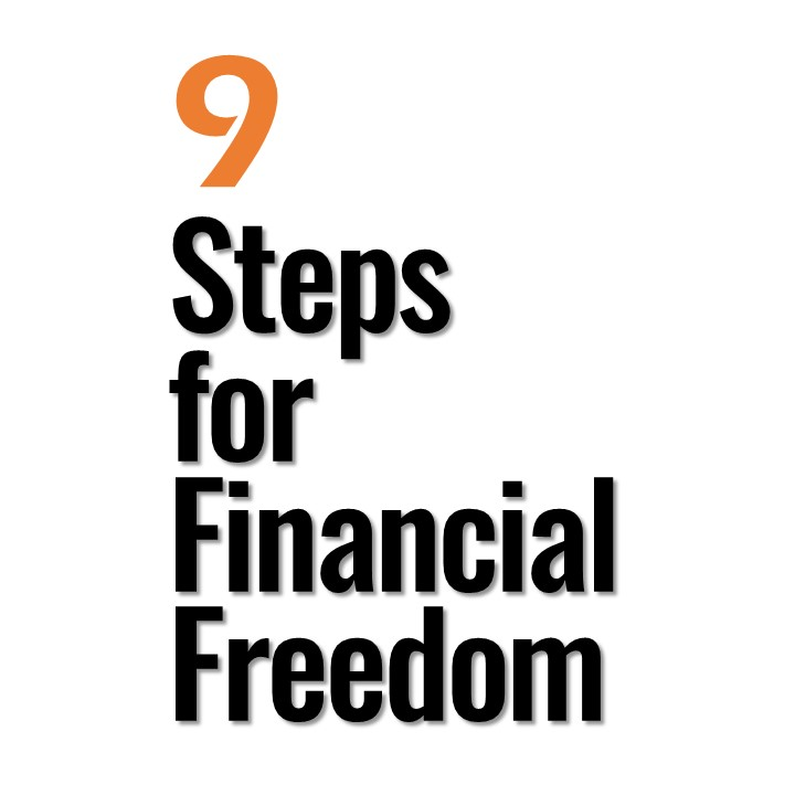 PPT Instructional Video Template on Financial Freedom