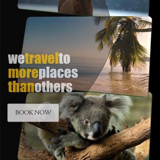 Promo PPT video template - Travel to more places