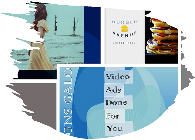 Shop 4:5 customizable vertical PowerPoint video templates